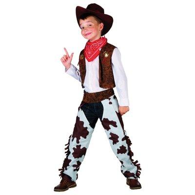Cowboydräkt barn brun