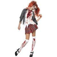 High School Horror - Zombietjej maskeraddräkt