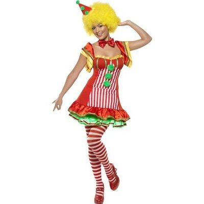 Clownen Boo Boo maskeraddräkt