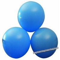 Blå ballonger - 25 st