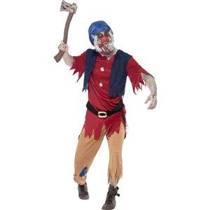 Zombie dvärg maskeraddräkt