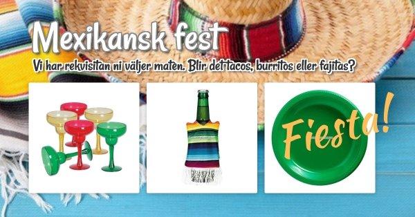 Mexikansk fest!