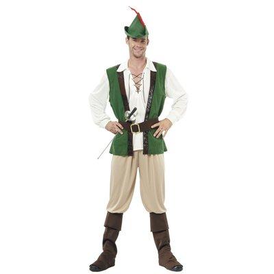 Klassisk Robin Hood - maskeraddräkt