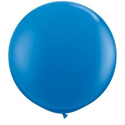 Jätteballong - Blå 80 cm