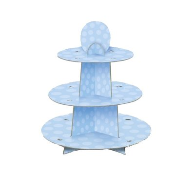 Cupcakestativ - Blå