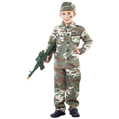 Kamouflage maskeraddräkt barn
