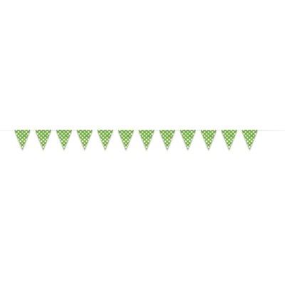 Gröna prickiga vimplar