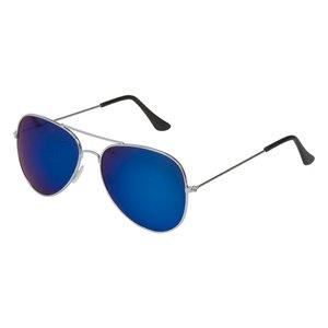 Pilotglasögon med spegelglas - Blåa