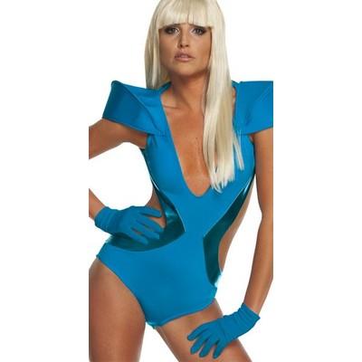 Handskar Lady Gaga blå