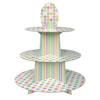 Cupcakestativ - Baby shower pastel