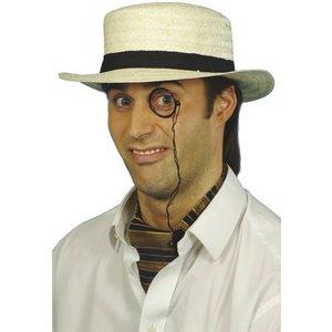 Stråhatt - Boater hat