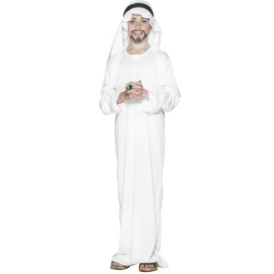 Arabisk shejk maskeraddräkt