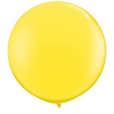 Jätteballong - Gul 80 cm
