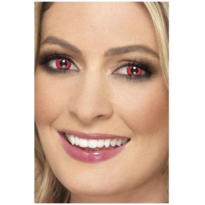 Electro 1 dags kontaktlinser - Röd