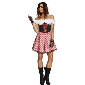 Piratmaskeraddräkt kvinna