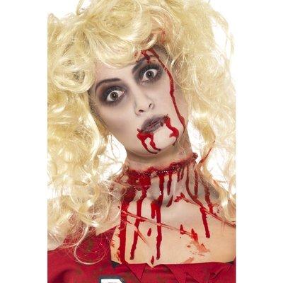 Zombie Make Up set med blod