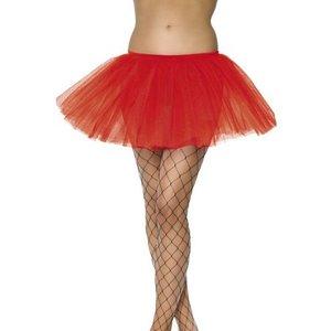 Balettkjol underkjol röd