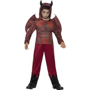 Deluxe Devil barn maskeraddräkt