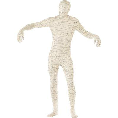Second skin-dräkt, mumie maskeraddräkt