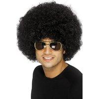 70's Funky Afroperuk - svart