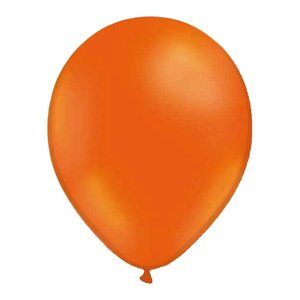 Latexballonger - Orange 13 cm 100-pack