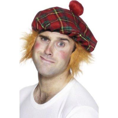 Skotsk mössa med hår