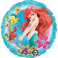 Folieballong - Ariel Under The Sea 45cm