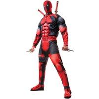 Deadpool maskeraddräkt - Vuxen