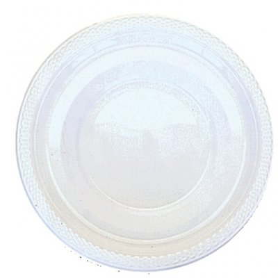 Vita djup plasttallrikar 355 ml - 20 st