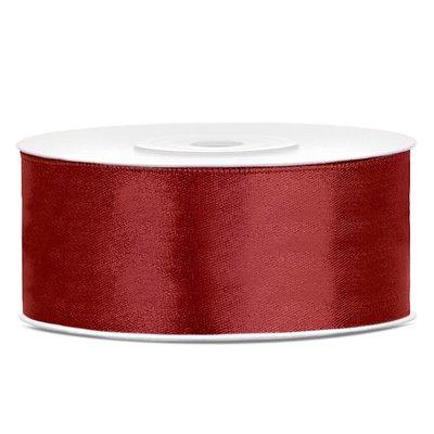 Satinband - Flera olika färger 25 mm x 25 m