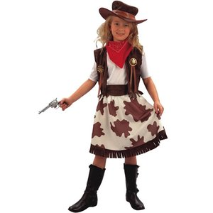 Cowgirl maskeraddräkt - barn