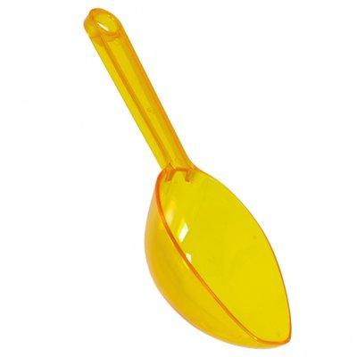 Godisskopa i plast - gul