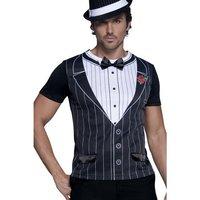 Gangster t-tröja man - Medium