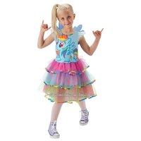 Rainbow Dashklänning maskeraddräkt - Barn