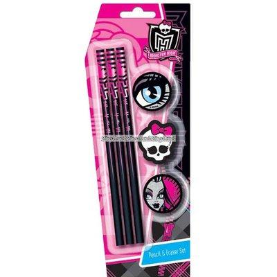 Monster high penna med suddigumsset