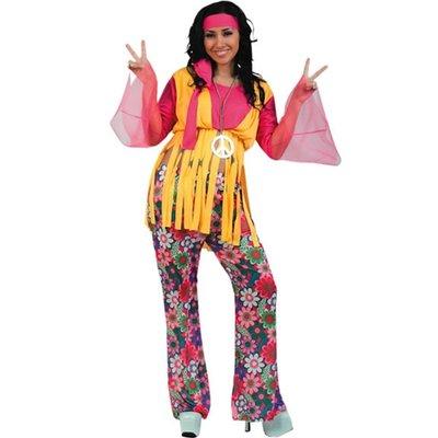 Hippie - maskeraddräkt budget kvinna