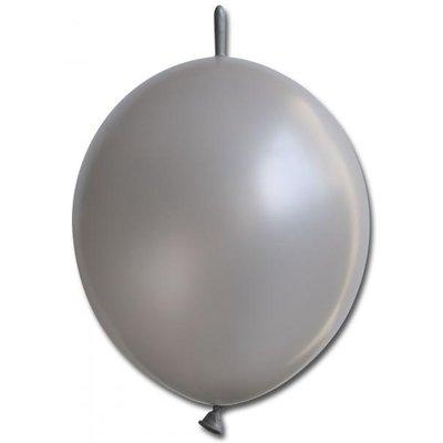 Kedjeballonger - Metallic Silver