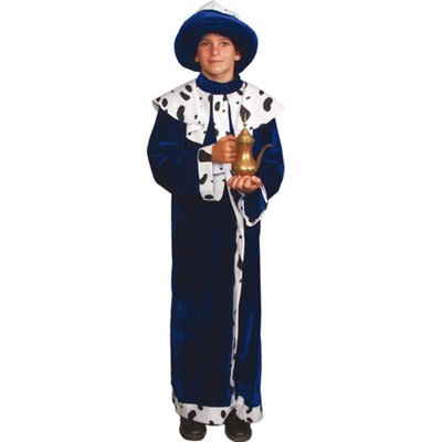 Blå Kung maskeraddräkt