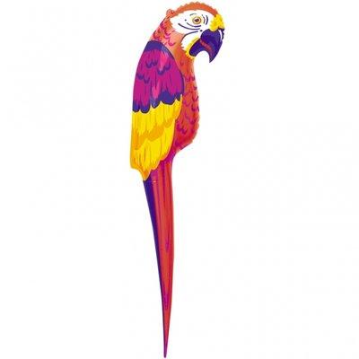 Uppblåsbar papegoja - 120cm
