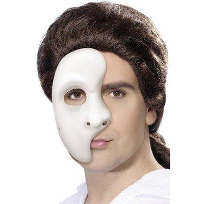 Fantommask halvt ansikte