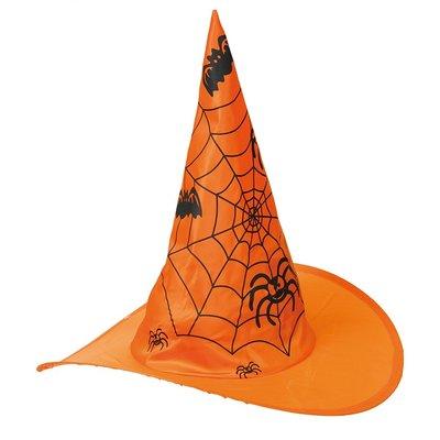 Häxhatt med spindlar