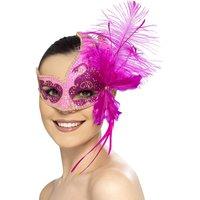 Maskerad karneval ängel ögonmask