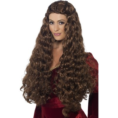 Medeltida prinsessa peruk