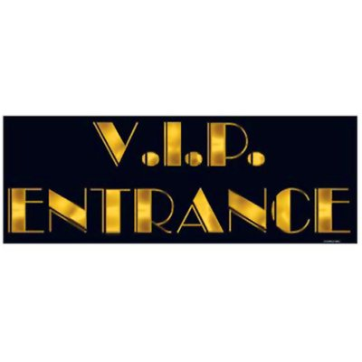Dekal VIP ingång