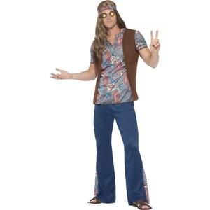 Hippieman maskeraddräkt