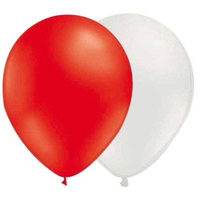 Ballongkombo - Röd-Vit