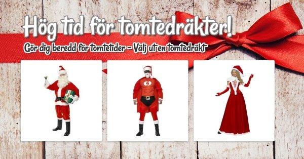 Köp en jultomtedräkt i god tid!