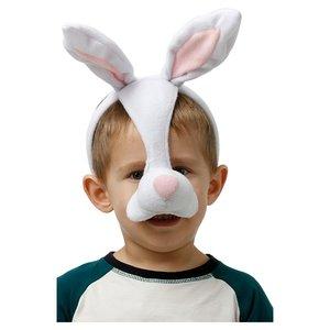 Djurmask Kanin - För barn och vuxna