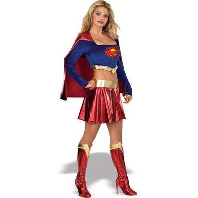 Super Girl / Superwoman maskeraddräkt