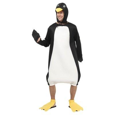 Pingvin - maskeraddräkt (korta ben)